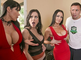 Brazzers eva karera trying on lots of shoes 9
