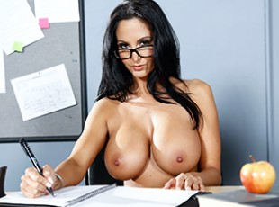 free porn Brazzers Ava Addams & Van Wylde: The Book Report Van Wylde accidentally groped a classmate\'s tit, and now her boyfriend is looking to kick his ass after school! One of Van\'s buddies has a plan to keep him in one piece, though: get a detention! Van does his best to get held after class, talking dirty to the teacher, busty MILF Miss Addams, until she dismisses everyone in the class but him. Ava is so turned on by his attitude that she lets him worship her big tits and gives him a nice sloppy face fucking. She bends over one of the classroom desks and Van fucks her wet MILF pussy until her legs are shaking from cumming so hard, and then he unleashes a big facial cumshot all over his teacher\'s pretty face!video